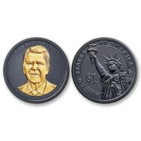 Ruthenium Reagan Presidential Dollar