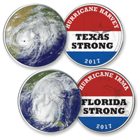 """America Strong"" Hurricane Quarters Set"