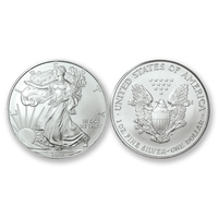 2018 Brilliant Uncirculated Silver Eagle Dollars