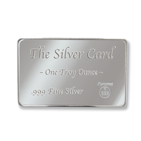One Ounce Pure Silver Card