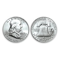 BU Franklin Half Dollar ... Dates and Mints Our Choice