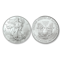 2019 Brilliant Uncirculated Silver Eagle Dollars