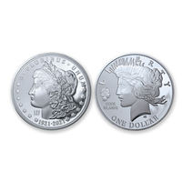 2021 Double Liberty Head Dollar