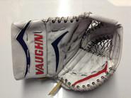 Vaughn Velocity V4 V6 Graphics Goalie Glove Malcolm Hartford Wolfpack Pro stock AHL