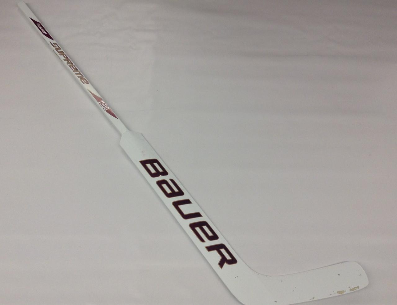 Bauer Supreme 7500 Custom Lh Pro Stock Goalie Stick 26 Bulldogs