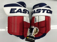 "Easton Pro Custom Hockey Gloves Pro Stock 14"" Narrow NHL Stalberg NY Rangers"