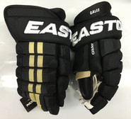 "Easton Pro Custom Hockey Gloves Pro Stock 14"" Narrow NHL Daley Penguins"