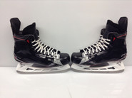 BAUER VAPOR 1X CUSTOM PRO STOCK ICE HOCKEY SKATES 10 3/8 C USED NY RANGERS STAAL NHL