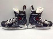 BAUER VAPOR APX2 CUSTOM PRO STOCK ICE HOCKEY SKATES 10.75 E 10.5 E USED NY RANGERS NHL LIKE NEW
