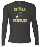 Enfield Wrestling Badger Pro Compression Long Sleeve Crew 4605