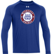 Wildcats Hockey Under Armour Long Sleeve Locker Tee Adult