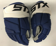 "STX Stallion 500 Pro Stock Custom Hockey Gloves 14"" Tampa Bay Lightning NHL"