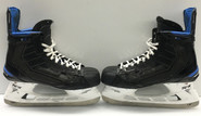 BAUER NEXUS 1N CUSTOM PRO STOCK ICE HOCKEY SKATES 10 1/4 C NEW YORK RANGERS STAAL NHL USED (2)