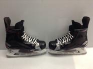 BAUER VAPOR 1X CUSTOM PRO STOCK ICE HOCKEY SKATES 10.5 D USED NY RANGERS GIRARDI NHL (5)