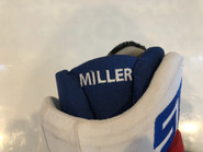 "STX Surgeon 500 Pro Stock Custom Hockey Gloves 14"" NY Rangers MILLER NHL USED"