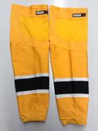 REEBOK EDGE CUSTOM HOCKEY SOCKS GOLD PRO STOCK NHL LARGE BOSTON BRUINS NEW