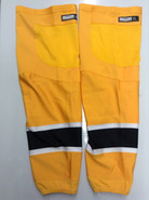 REEBOK EDGE CUSTOM HOCKEY SOCKS GOLD PRO STOCK NHL X-LARGE XL BOSTON BRUINS NEW