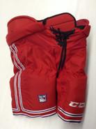 CCM HP UCLP Custom Pro Stock Hockey Pants Red XL X-large New York Rangers