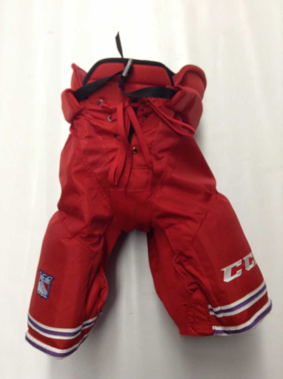 CCM HP UCLP Custom Pro Stock Hockey Pants Red Medium New York Rangers