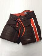 Vaughn Custom Pro Stock Hockey Goal Pants Brown XL X-Large Bowling Green NELL