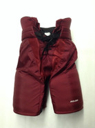 "Bauer Custom Pro Hockey Pants UMASS AMHERST MINUTEMEN Large +1"" Pro Stock NCAA"