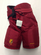 "Bauer Custom Pro Hockey Pants Ferris State Bulldogs  Medium +1"" Pro Stock NCAA"