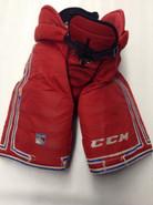 CCM HP45 Custom Pro Stock Hockey Pants Large New York Rangers NHL Used