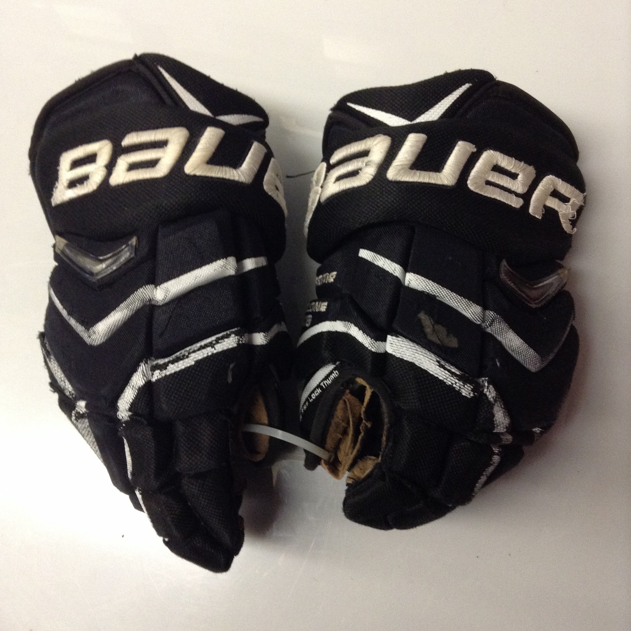 Bauer Supreme Totalone Nxg Pro Custom Pro Stock Hockey Gloves Used