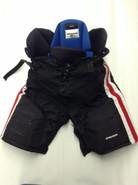 Bauer Nexus Custom Pro Hockey Pants Medium Black Pro Stock NCAA Used