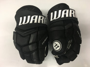 "Warrior Covert QRL Pro Custom Pro Stock Hockey Gloves Boston Bruins 14"" NHL"