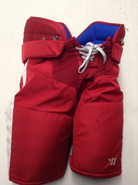 Warrior Covert QRL Custom Pro Hockey Pants Large Boston University Used #12