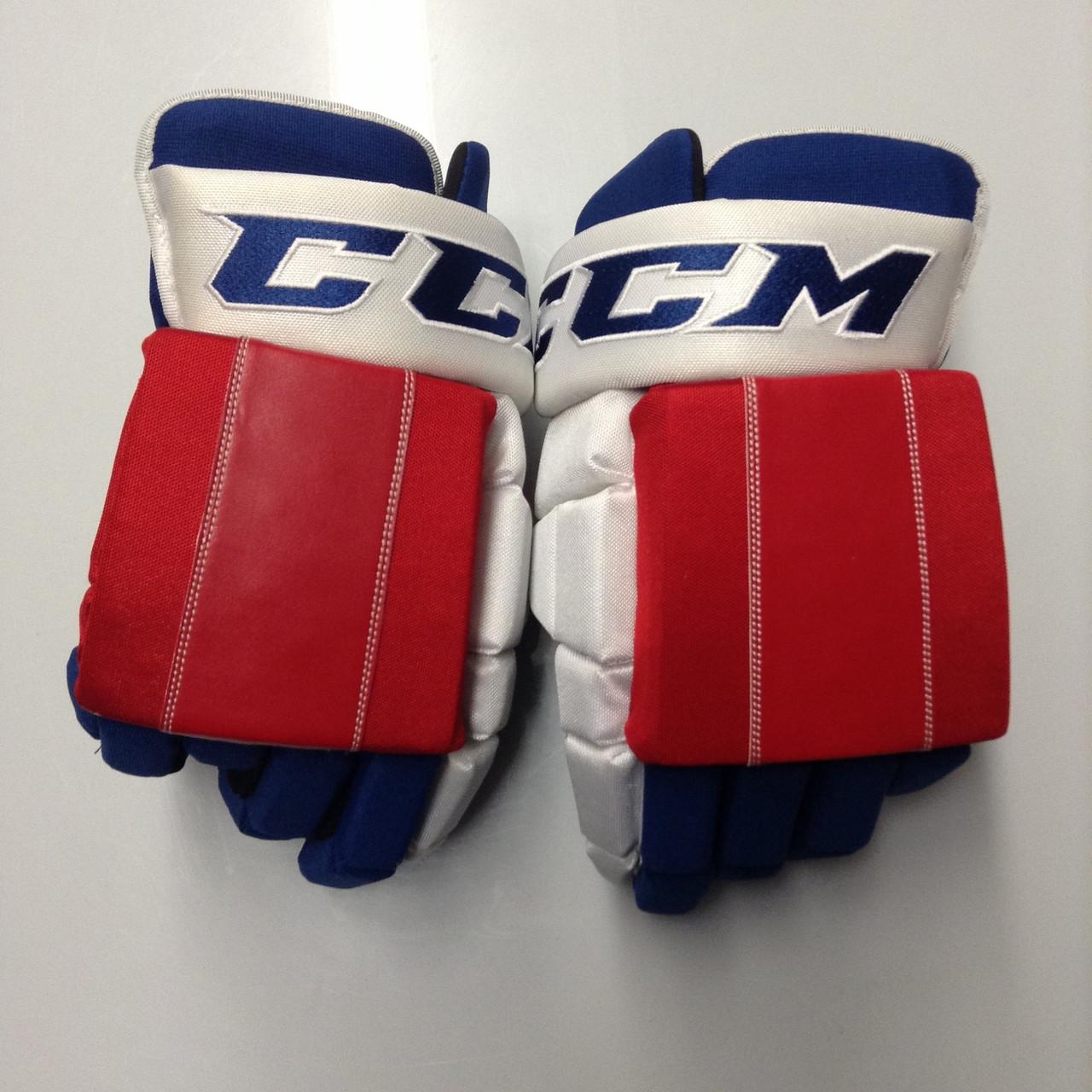 huge discount 339d9 b935f CCM HG4RPP Pro Stock Custom Hockey Gloves 15