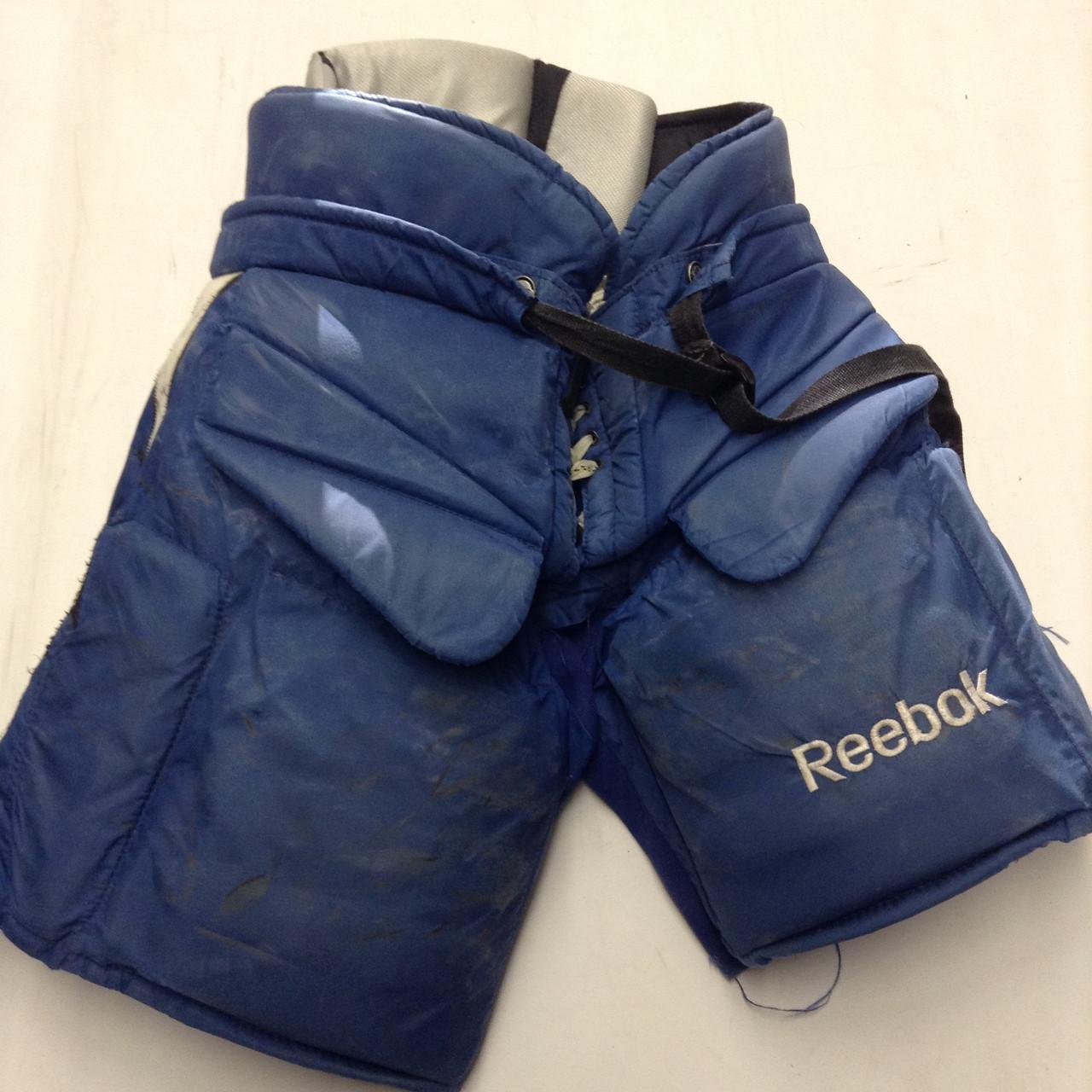 pretty nice e2a74 380de Reebok MHPG 11k Custom Pro Stock Hockey Goal Pants Royal Large Tampa Bay  Lightning
