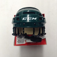 CCM VECTOR V08 PRO STOCK HOCKEY HELMET GREEN SMALL NEW