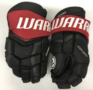 "Warrior Covert QRL Pro Stock Custom Hockey Gloves 14"" Boroiecki Senators NHL"