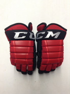 "CCM HG97 Pro Stock Custom Hockey Gloves 13"" RPI NCAA New"