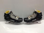 BAUER Supreme 1S Custom Pro Stock Ice Hockey Goal Skates 11 D CUSTOM HALVERSON AHL