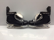 BAUER SUPREME 1S CUSTOM PRO STOCK ICE HOCKEY SKATES 10.5 D AHL Used PEDRIE (2)