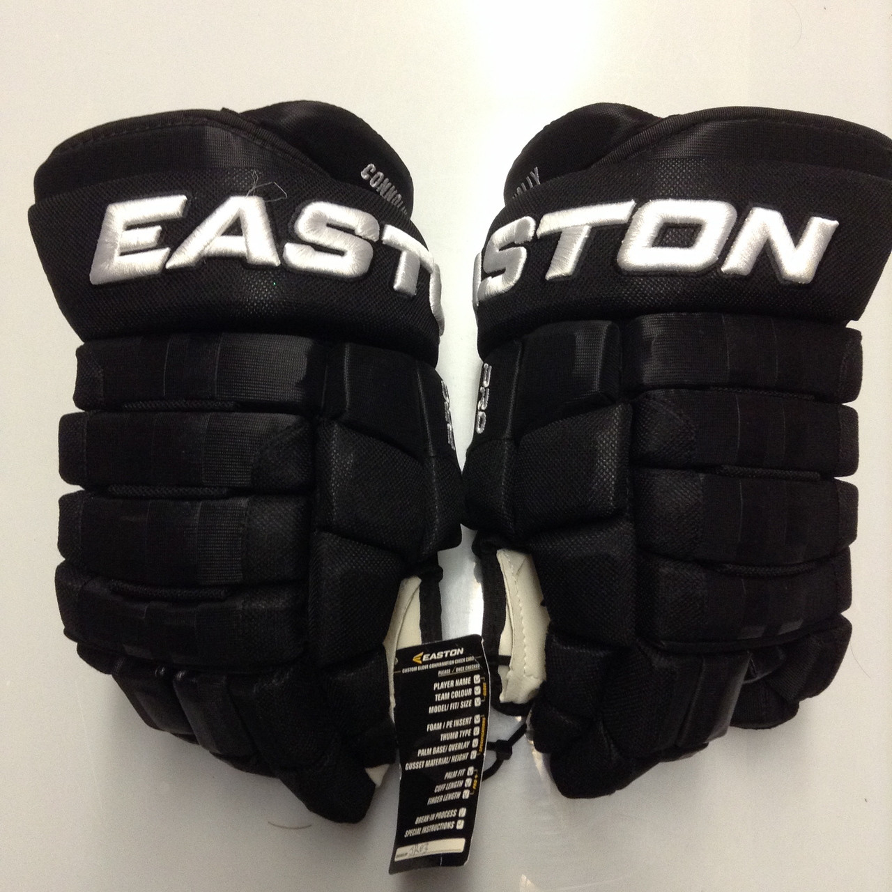 super popular ffe20 567d9 Easton Pro Custom Hockey Gloves Pro Stock 14