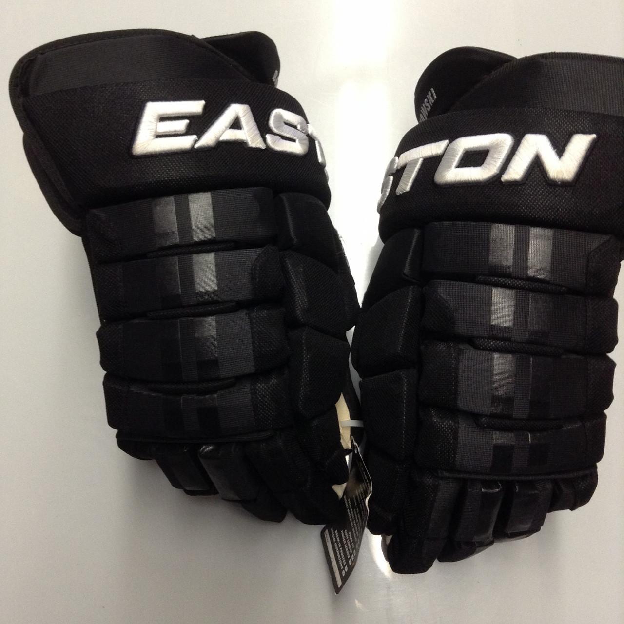 detailed look 9cf74 32387 Easton Pro Custom Hockey Gloves Pro Stock 15