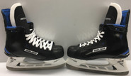 BAUER NEXUS 1N CUSTOM PRO STOCK ICE HOCKEY SKATES R 8 3/4D L 8 1/2D GRABNER NY RANGERS NEW