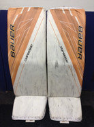 "BAUER Supreme 1S Pro Goalie Leg Pads 36+1"" X-Large Pro Stock NHL VLADAR Boston Bruins"