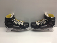 BAUER Supreme 1S Custom Pro Stock Ice Hockey Goal Skates 10.5 D NCAA