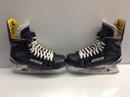 BAUER SUPREME 1S CUSTOM PRO STOCK ICE HOCKEY SKATES 10.5 E NHL USED