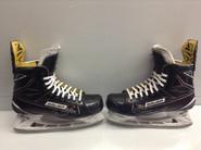 BAUER SUPREME 1S CUSTOM PRO STOCK ICE HOCKEY SKATES 9 E  NHL USED
