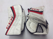 CCM Premier Goalie Catcher and Blocker Pro Stock NCAA Custom  Used