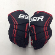 "Bauer Vapor APX Pro Stock Custom Hockey Gloves 12"" NE Huskies New"