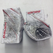 BAUER Supreme 2S Goalie Catcher and Blocker Pro Stock NCAA BU Terriers Oettinger Custom used