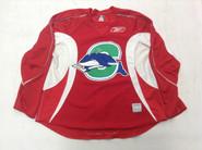 Reebok Edge 2.0 Custom Pro Stock Hockey Practice Jersey CT Whale Red 58