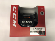 CCM TACKS 710 HOCKEY HELMET BLACK SMALL